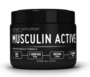 Musculin Active - test - ingredienser - bluff
