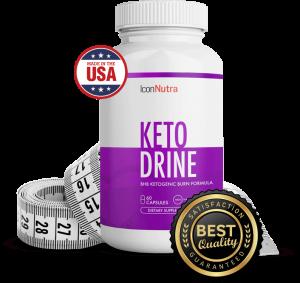 Icon Nutra Ketodrine - för viktminskning - Pris - Amazon - ingredienser