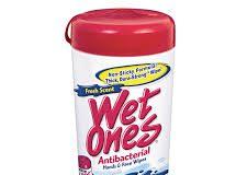 Antibacterial Wipes - antibakteriellt medel - Amazon - test - funkar det